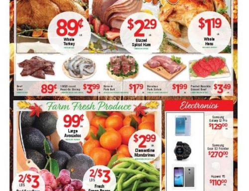 Holiday Weekly Ad from November 14th to the 22nd