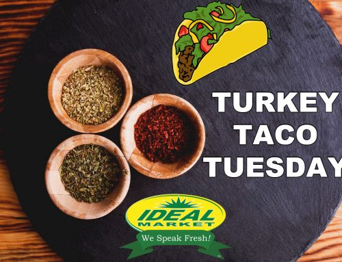Turkey Taco Tuesday! 3/$1