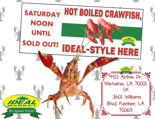 Join us for our Crawfish sale!