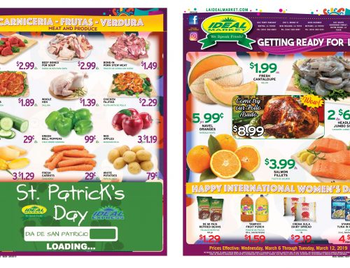 Weekly Ads from March 6th to the 12th