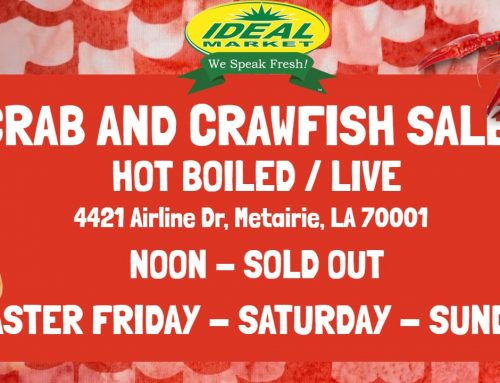Crab and Crawfish Sale (Hot Boiled and Live)