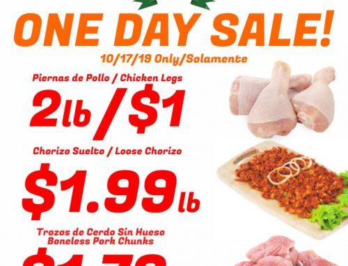 One Day Meat Sale