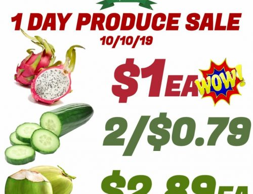 Don't miss it! #1DayProduceSale
