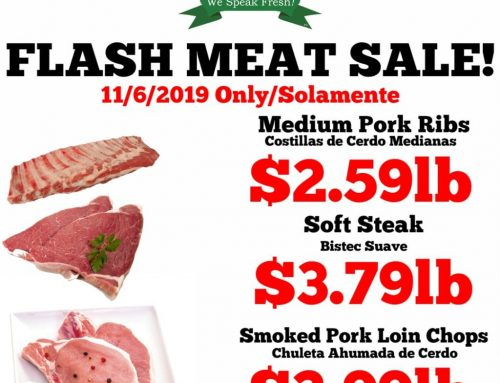 One day flash sale! #MeatSale #GreatPrices