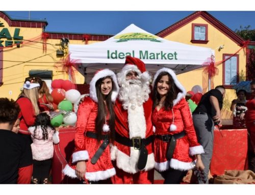 Ideal Market's Christmas Toy Drive Day 1 — at 250 S. Broad New Orleans, LA.