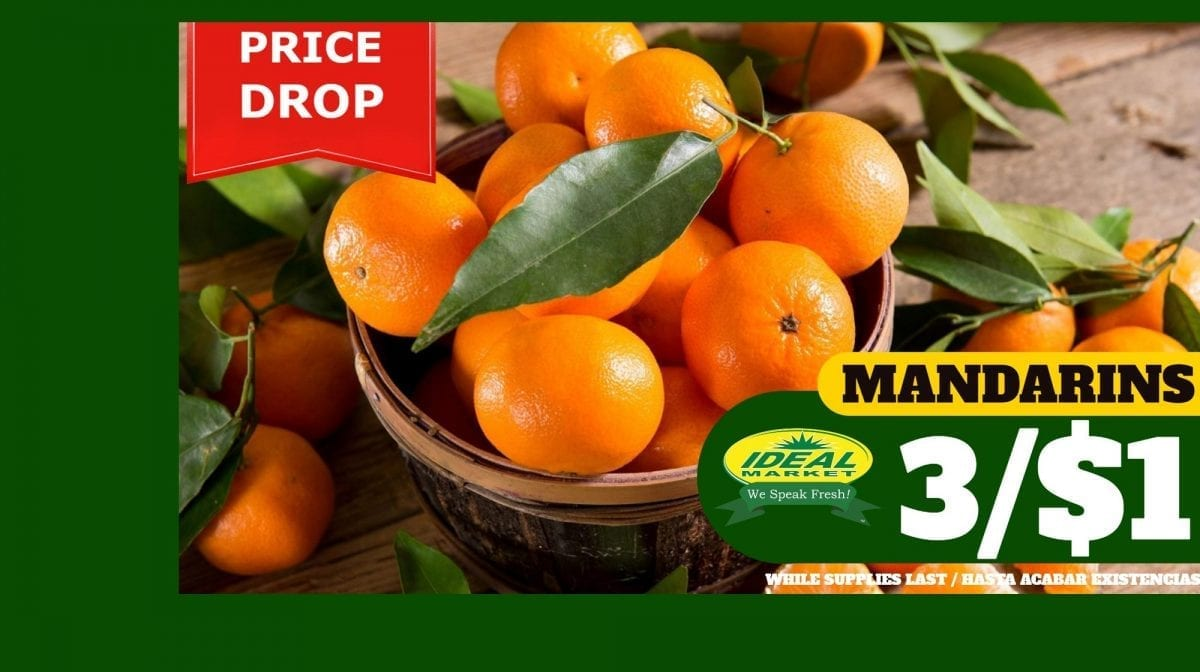 Mandarins on Sale