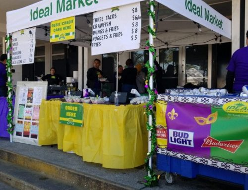 Ideal Market lit Endymion Up!