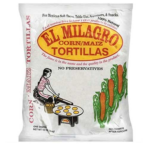El Milagro Yellow Tortillas
