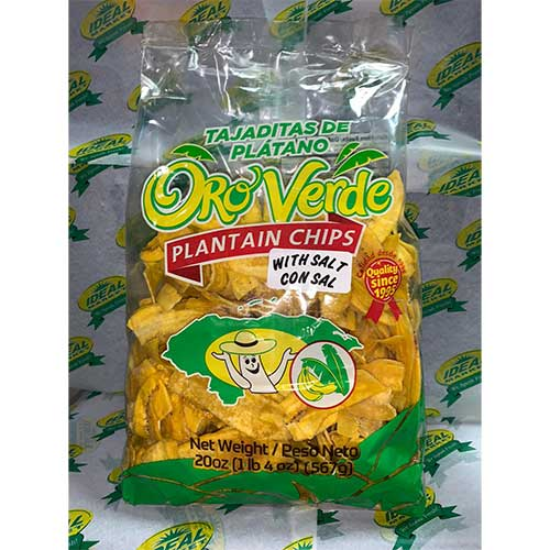 Oro verde Plantain Chips