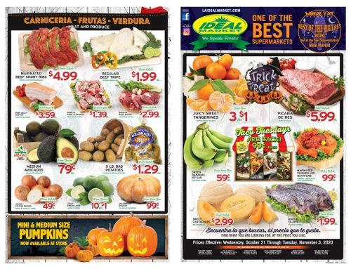 Biweekly Specials from Oct. 21-Nov.3