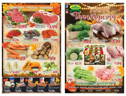 Weekly Ad from November 25th to December 1st