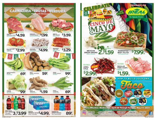 Biweekly Ads from April 28th to May 11