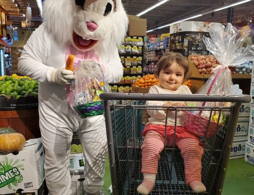 Good Friday with The Easter Bunny!