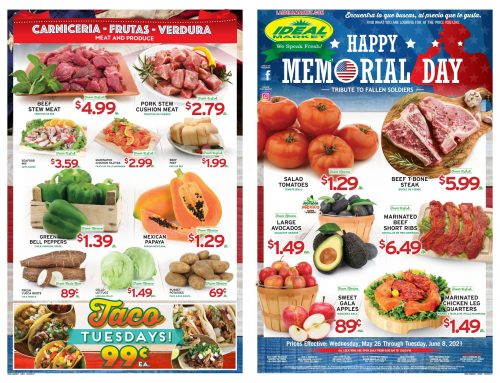 Biweekly Ads from May 26th to June 8th